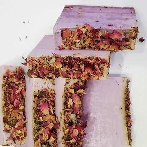 Lilac Rose Soap, Soap Bar, Bathing Soap, Shower So